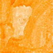 42 x 29,5 cm, Acryl auf Papier
