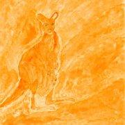 42 x 29,5 cm, Aquarell, Bleistift auf Papier