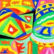 <p>42 x 59 cm, Acryl auf Papier</p>