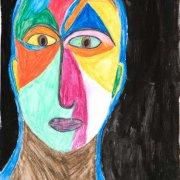 <p>42 x 30 cm, Aquarell, lavierter Buntstift auf Papier</p>