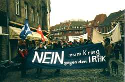 Photo von Demonstration gegen Irakkrieg