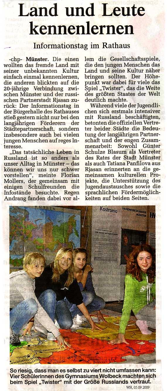 Münster neue leute kennenlernen