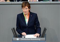Sybille Benning MdB im Plenum des Deutschen Bundestages