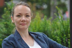 Sabrina Janesch, Autorin aus Münster und Trägerin des Annette-von-Droste-Hülshoff-Preises 2017
