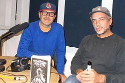 Autor Jonny Bauer (rechts) und sein Sidekick Jenz Bumper