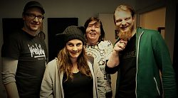 Sebastian, Morina, Renate und Martin machen B-Side Funk