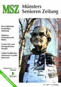 Aktuelle Ausgabe Nr. 1/2011 von Münsters Senioren Zeitung