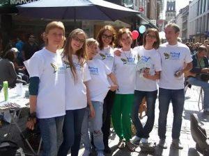 Team Ukrainehilfe in der Ludgeristrasse