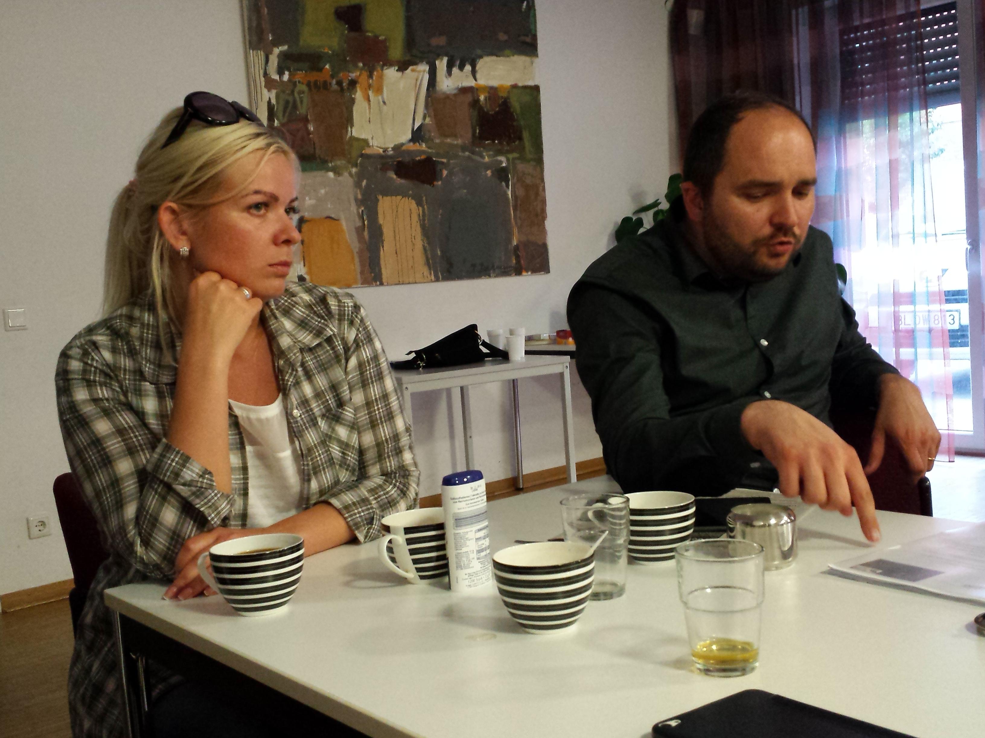 Iryna Babak und Yaroslaw Malko