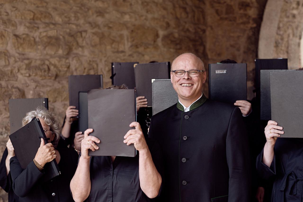 WKM-Chorleiter Bernhard van Almsick
