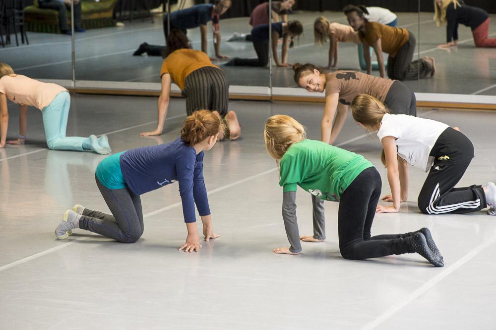 """Beim Workshop von """"In the Midst of Everything"""" Foto: Thorsten Arendt"""