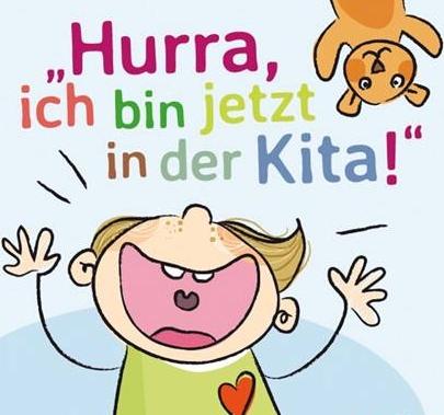 """""""Hurra, ich bin jetzt in der Kita!"""" – das kleine Buch für Ersti-Eltern vom JAEB Münster"""