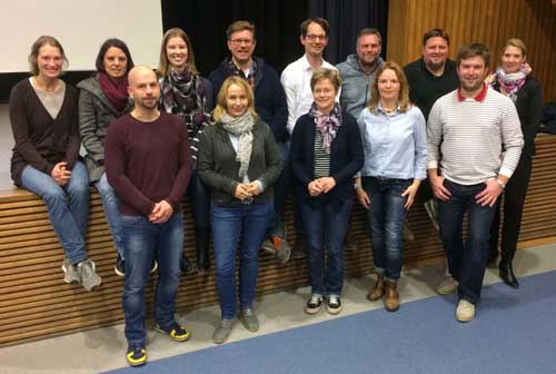 Die Mitglieder des JAEB Münster 2016/17