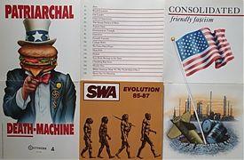 """Musik über amerikanische Politik ist ein Schwerpunkt bei """"HURRA!"""" im Oktober. (Bildrechte: NETTWERK / SST Records )"""