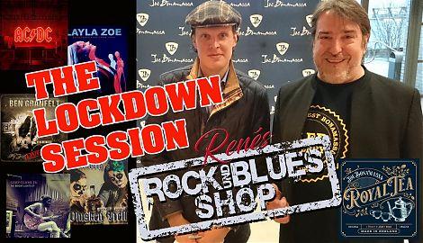 Live-Konzerte sind zurzeit nicht möglich, der Rock- und Blues-Shop präsentiert dafür viele neue Platten. (Foto: René Back)