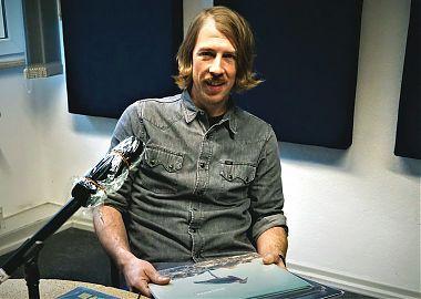 Michael Rölver im Studio (Foto: Klaus Blödow)