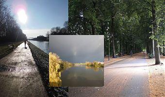Zu den beliebtesten Strecken, sowohl zum Spazieren als auch zum Joggen gehören in Münster der Kanal, der Aasee und die Promenade