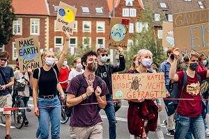 Impression von der Klima-Demo 2020 (Foto: Marlena Grab/ Fridays for Future)