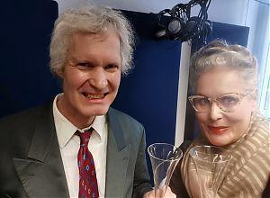 Martin Degener und Kati Homburg stöbern diesmal in Papas Plattenschrank. (Foto: Klaus Blödow)