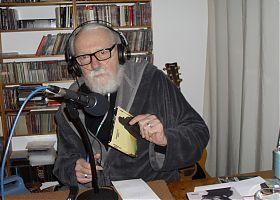 Moderator VMH im Heimstudio (Foto: Klaus Blödow)