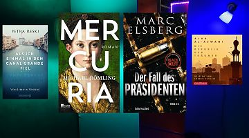 Der LeseWurm stellt Literatur von verschiedenen Kontinenten vor.
