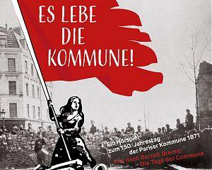 """""""Es lebe die Kommune!"""" (Ausschnitt aus dem Cover der CD-Veröffentlichung des Hörspiels)"""