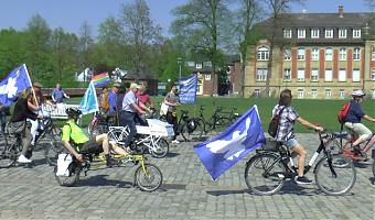 In Münster findet der Ostermarsch 2021 als Osterfriedensfahrraddemo statt.