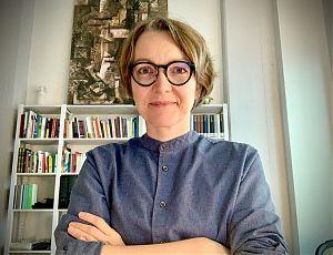 Tanja Weidner berichtet von der Wiedereröffnung des WBT und ihrem beruflichen Weg in die Dramaturgie. (Foto: Redaktionsgruppe Welle WBT)