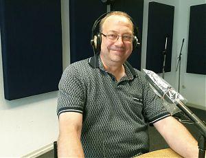 Karsten Hannig vom Team des webradio münster beim medienforum münster e. V. (Foto: Ralf Clausen)