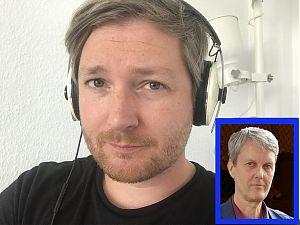 Moderator Andre Schuster (großes Bild) und Harald Löhlein vom DPWV. (Fotos: privat)