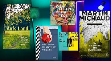 Der LeseWurm stellt im September Krimis und Liebesdramen vor.