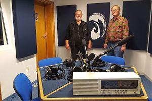Klaus Blödow und Ralf Clausen machen Bürgerfunk beim medienforum münster e. V.