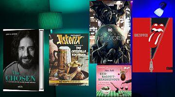 Der LeseWurm stellt im Oktober Comics, eine Jesus-Serie, Musik- und Hörbücher vor.