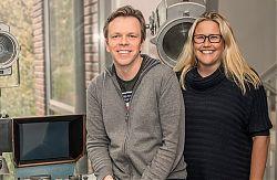 Die Festivalleitung: Carsten Happe und Risna Olthuis geleitet