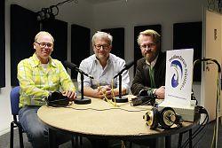 (Bild: medienforum münster e.V.) Der neue Vorstand des medienforum münster e.V.: v.l. Ralf Clausen, Torsten Henseler, Johannes Wentzel
