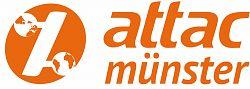 Das Logo der attac- Regionalgruppe Münster