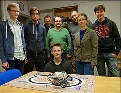 """Das IT-Projekt Münster veranstaltet den Roboter-Wettbewerb """"OPEN-MINT-Masters 2018"""""""