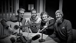 Phil Wood, Fabian Lickes, Morina Miconnet und Martin Schlathölter