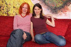 Carola v. Seckendorff und Cornelia Kupferschmid