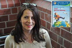 Spricht im LeseWurm über ihre Lesung vor Münsteraner Grundschülern: Kinderbuchautorin Anja Fröhlich.