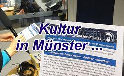 Wahl lokal - Freie Kultur in Münster
