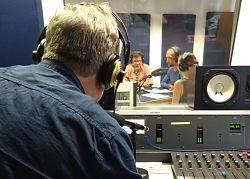 Hörspiel-Aufnahmen im Studio beim medienforum münster e.V.