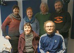 Von links: oben Susanne Kemper, Janis Matheja, Jürgen Bacia, Bernd Drücke, unten: Anne Niezgodka, Marvin Feldmann. (Foto: Klaus Blödow)