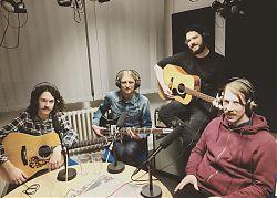 The Great Beyond, Band aus Münster, zusammen mit Michael Rölver. (Foto: Klaus Blödow)