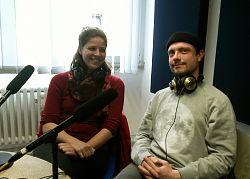 Sofia Debus und Jakob Baumgartner (Foto: Fabian Lickes)