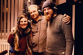 Morina Miconnet,  Tobias Daur und Martin Schlathölter (Foto: Fabian Lickes)