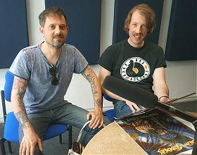 Chris Weinrich und Michael Rölver (Foto: Hanna Wiedenhaus)
