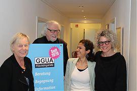 Die GGUA feiert ihren 40. Geburtstag auch im Bürgerfunk. (Foto: Jan Große Nobis / Die Sperre)