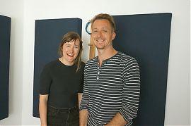 Rose Lohmann und Christian Bo Salle (Foto: Hanna Wiedenhaus)