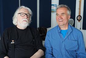 Volker Maria Hügel mit Dietrich Eckeberg (Foto: Klaus Blödow)
